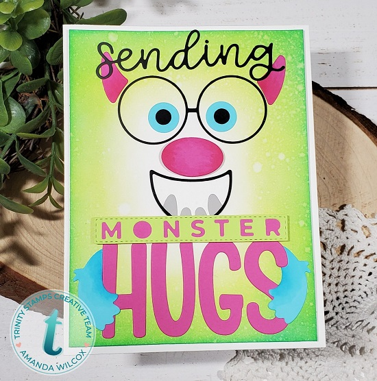Trinity Stamps Make-a-monster Sending Hugs die sets